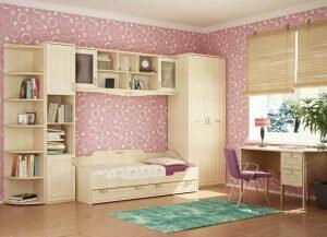 Красивая детская комната для девочки: интерьер, дизайн