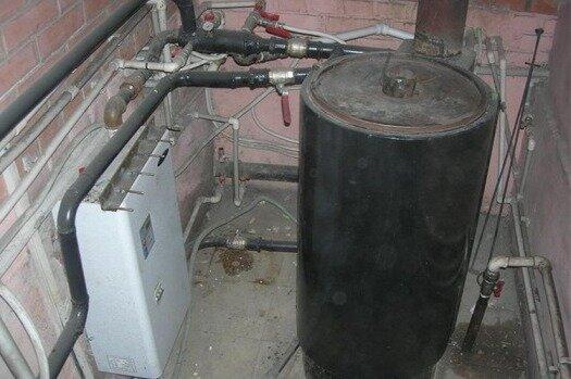 накопительный водонагреватель своими руками